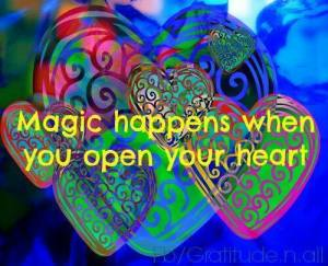magic open heart