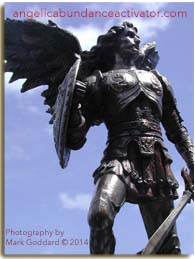 Archangel Michael Chosen Image with website