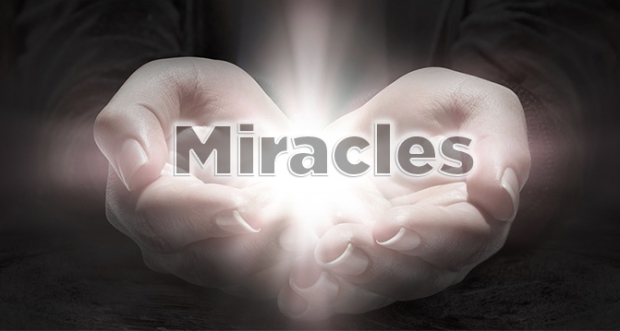 miracles with hands glowing Reiki