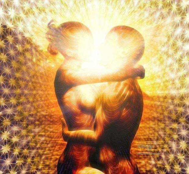 love soulmates golden glowing beautiful ALA
