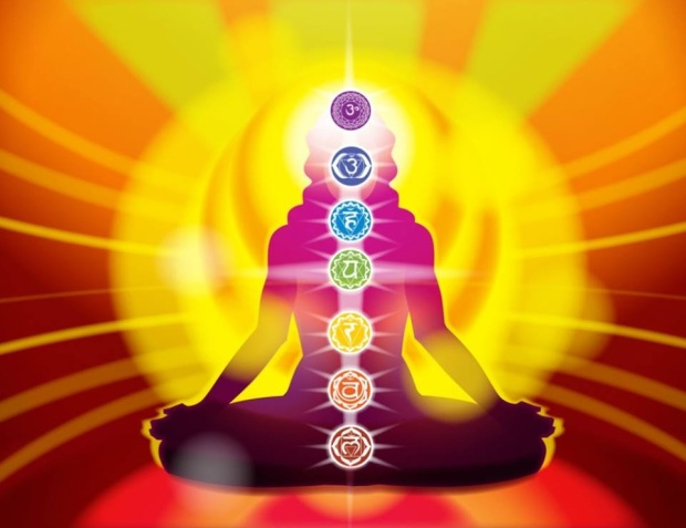 beautiful colorful chakras Higher Consciousness HC aura